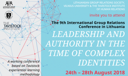 Invitation to the Group Relations Conference in Vilnius